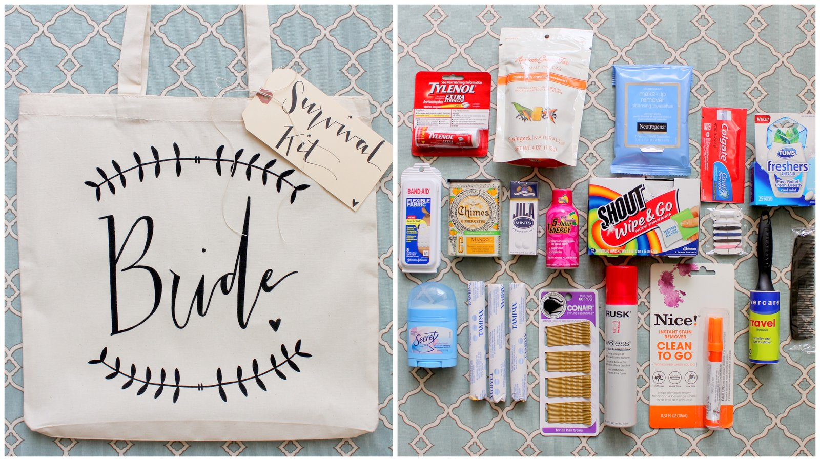 Wedding Day Emergency Kit