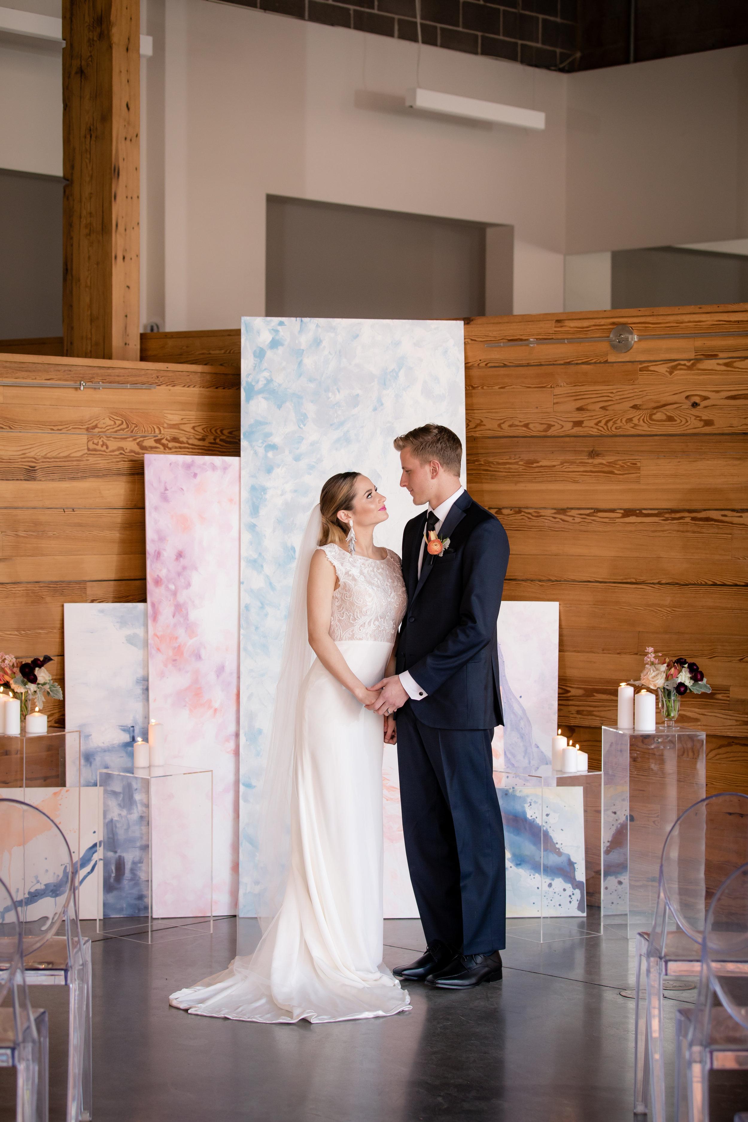 Watercolor Wedding Backdrop