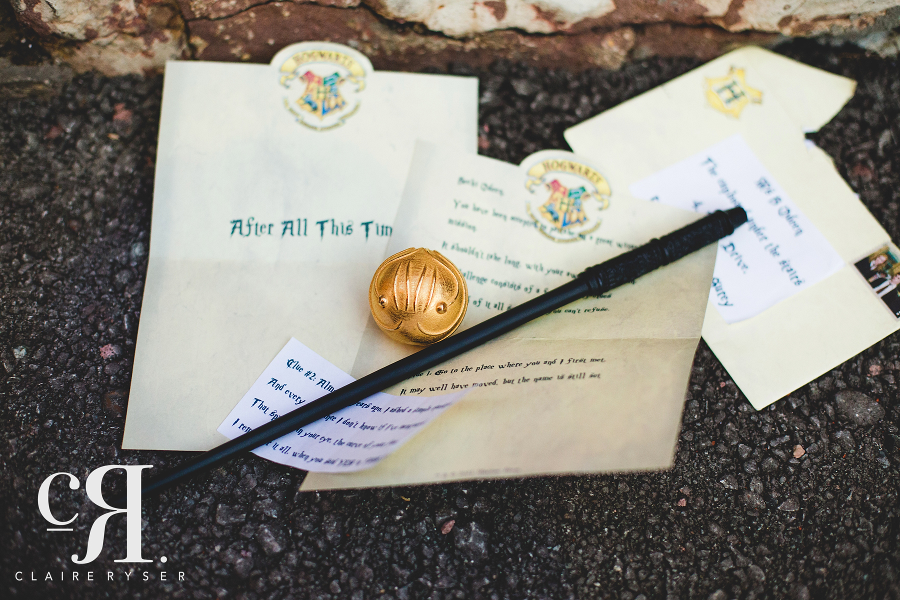 Harry Potter Theme Wedding Invitations