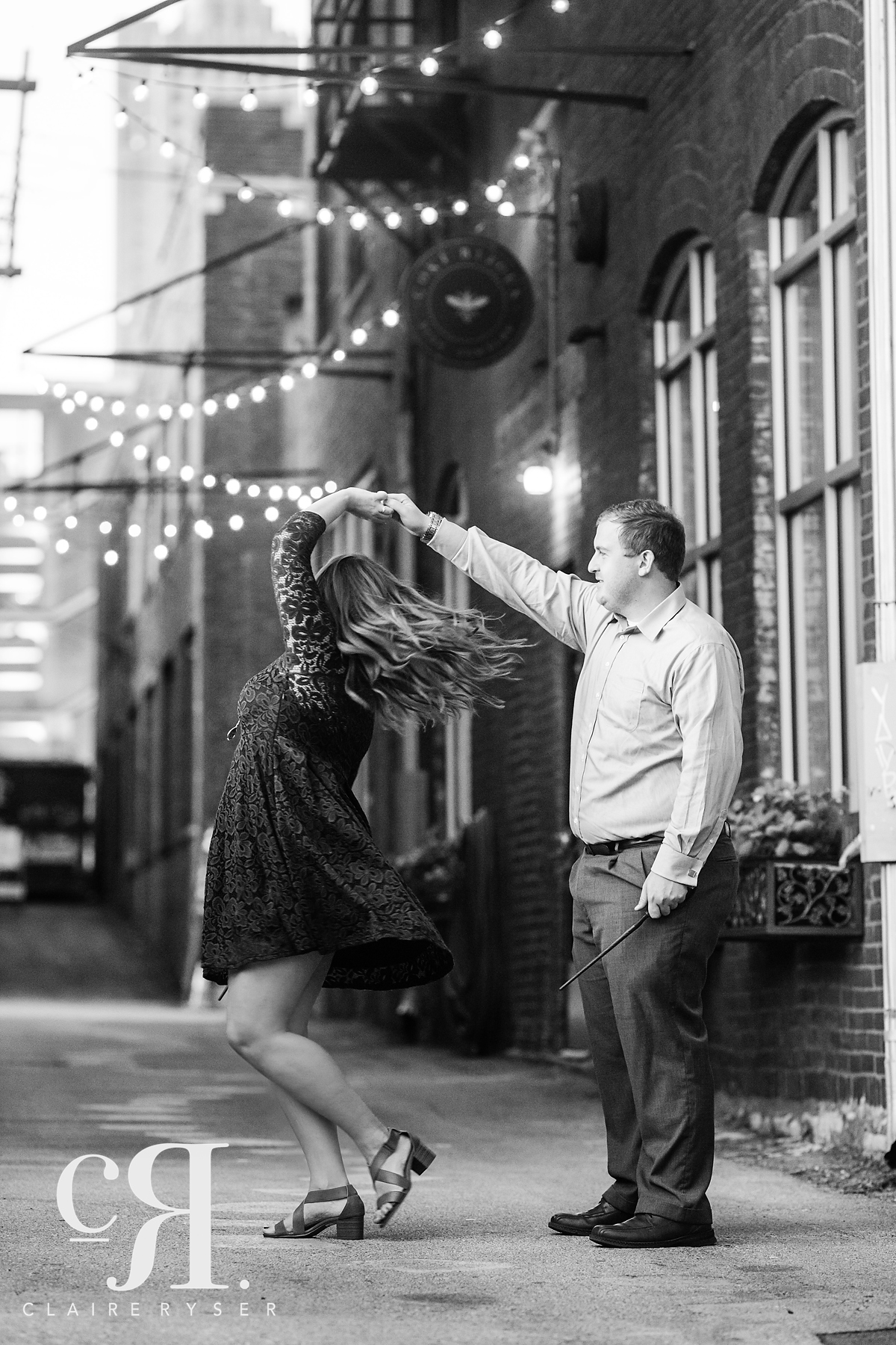 Dancing Engagement Session
