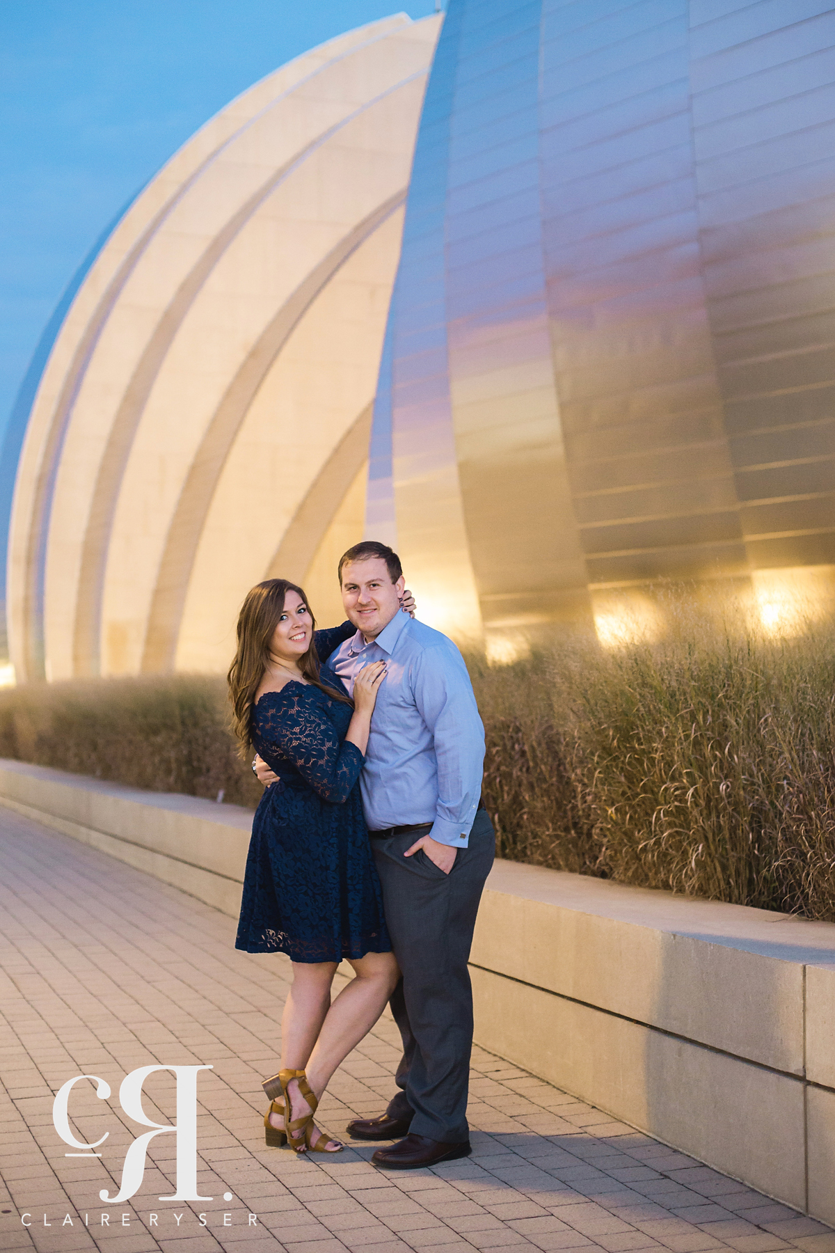 Kauffman Center Engagement Photos