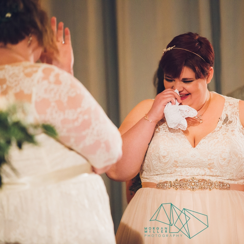 Bride's Emotion during Ceremony