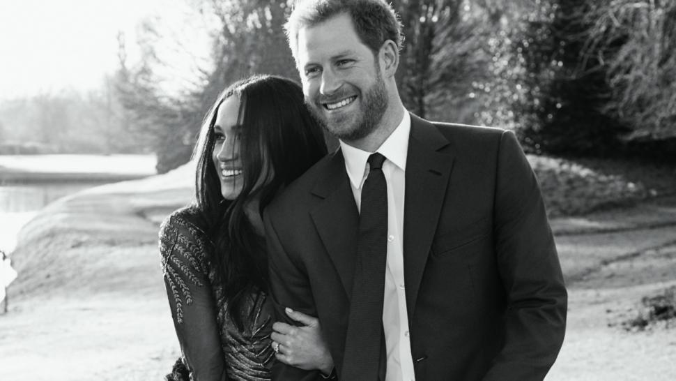 Prince Harry & Megan Markle Engagement Photo