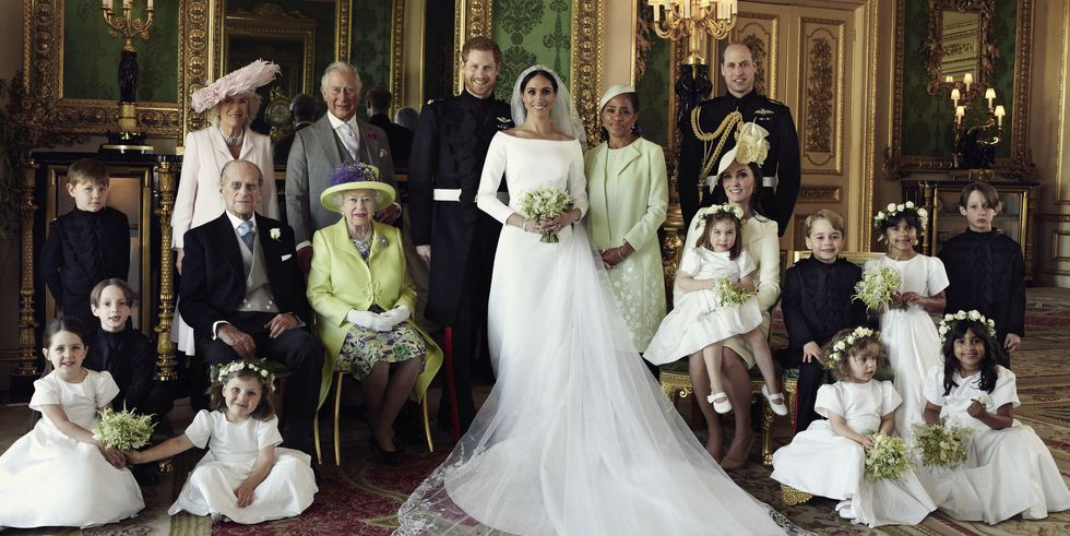 Prince Harry & Meghan Markle Official Wedding Portrait