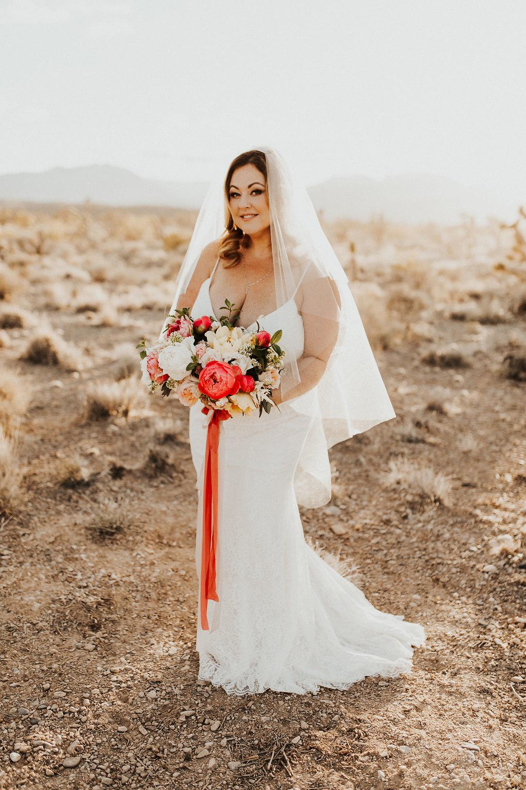 Copy of Plus Size Bride | Desert Wedding