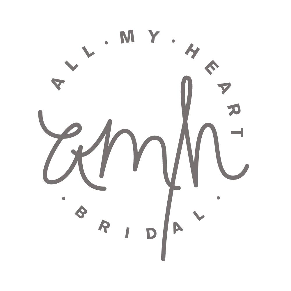 All My Heart Bridal Logo