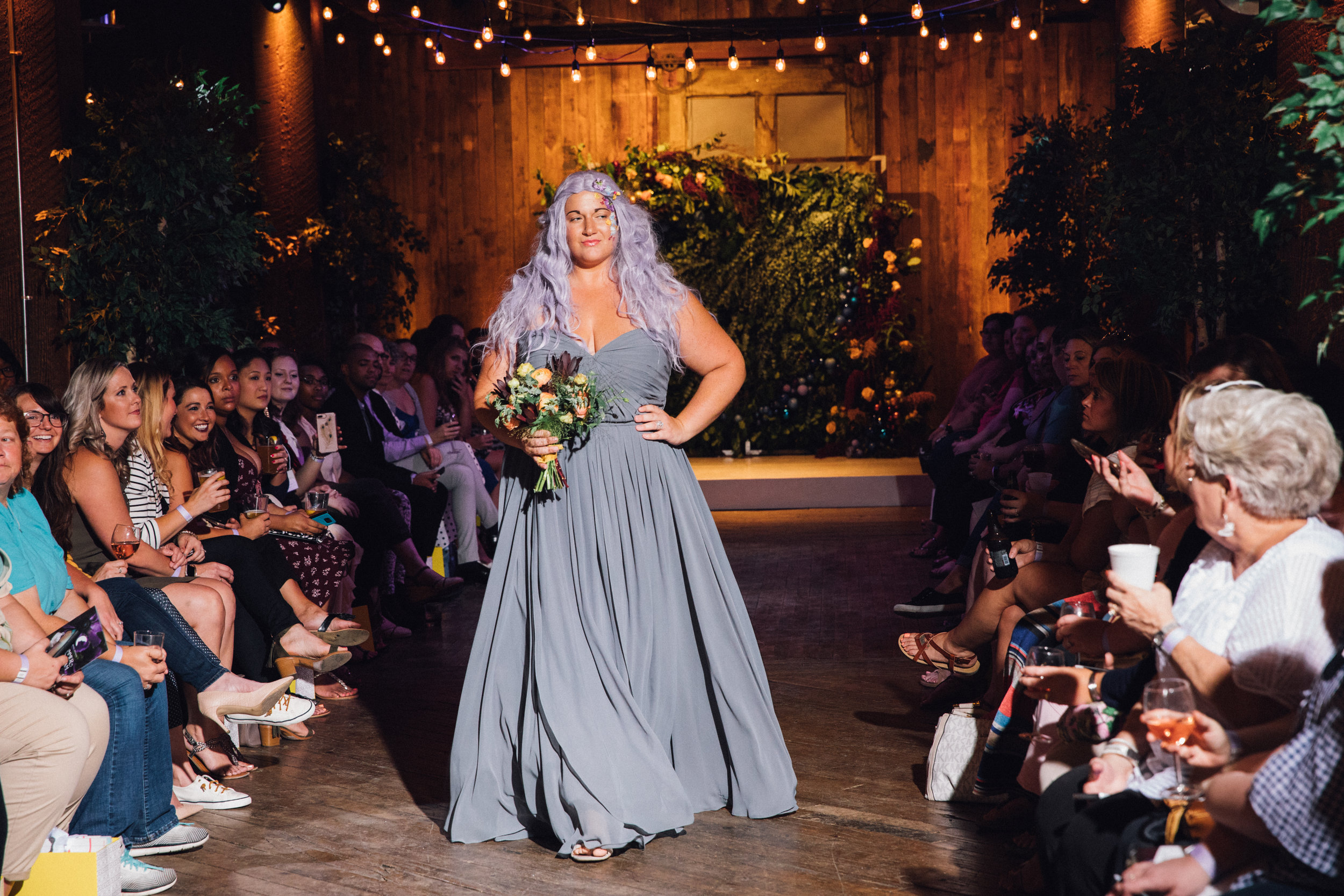 Emily Campbell | Get Your Curve On Bridal Fashion Show Model