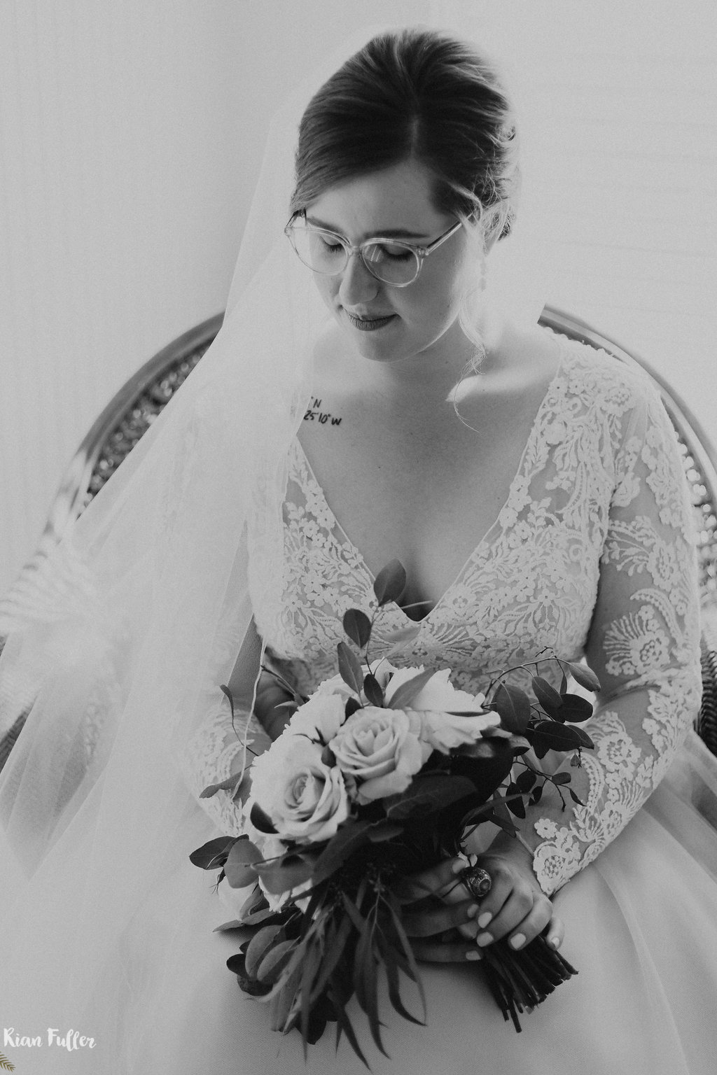 Plus Size Bridal Portrait | Rian Fuller Photography