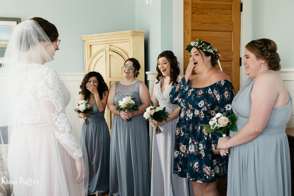 Bride & Bridesmaids | Rian Fuller Photography