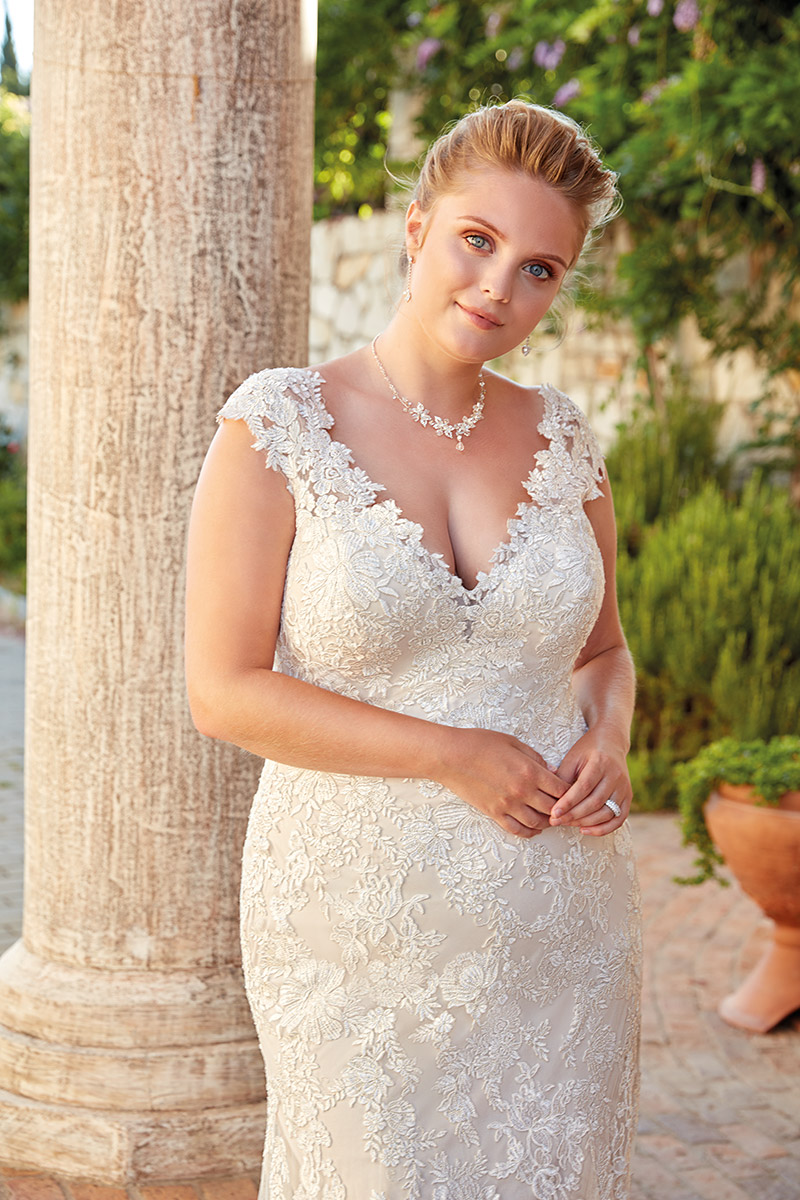 UR105 | Eddy K Bridal | Plus Size Wedding Dress