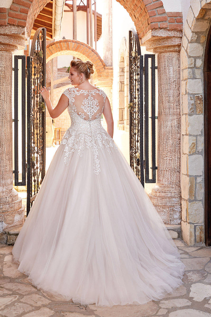 UR1011 | Eddy K Bridal | Plus Size Wedding Dress