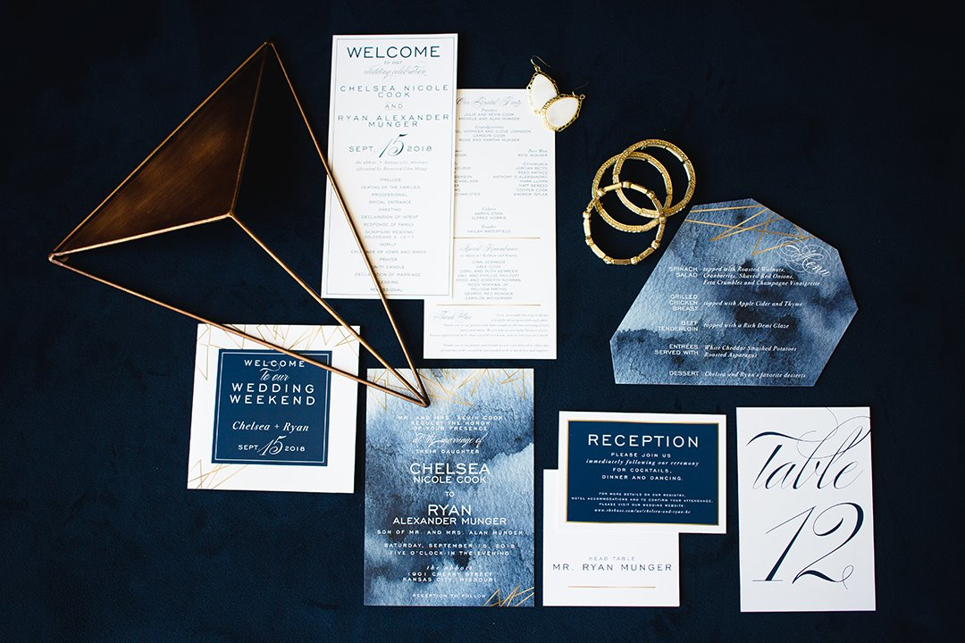 BP Creative Group | Kansas City Wedding Invitations
