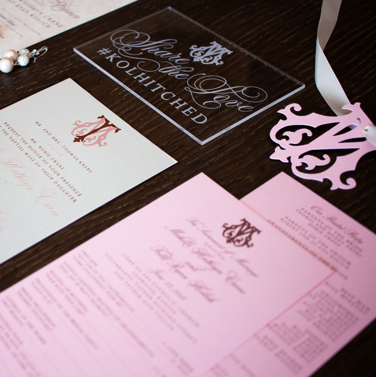BP Creative Group | Kansas City Wedding Stationery Designer