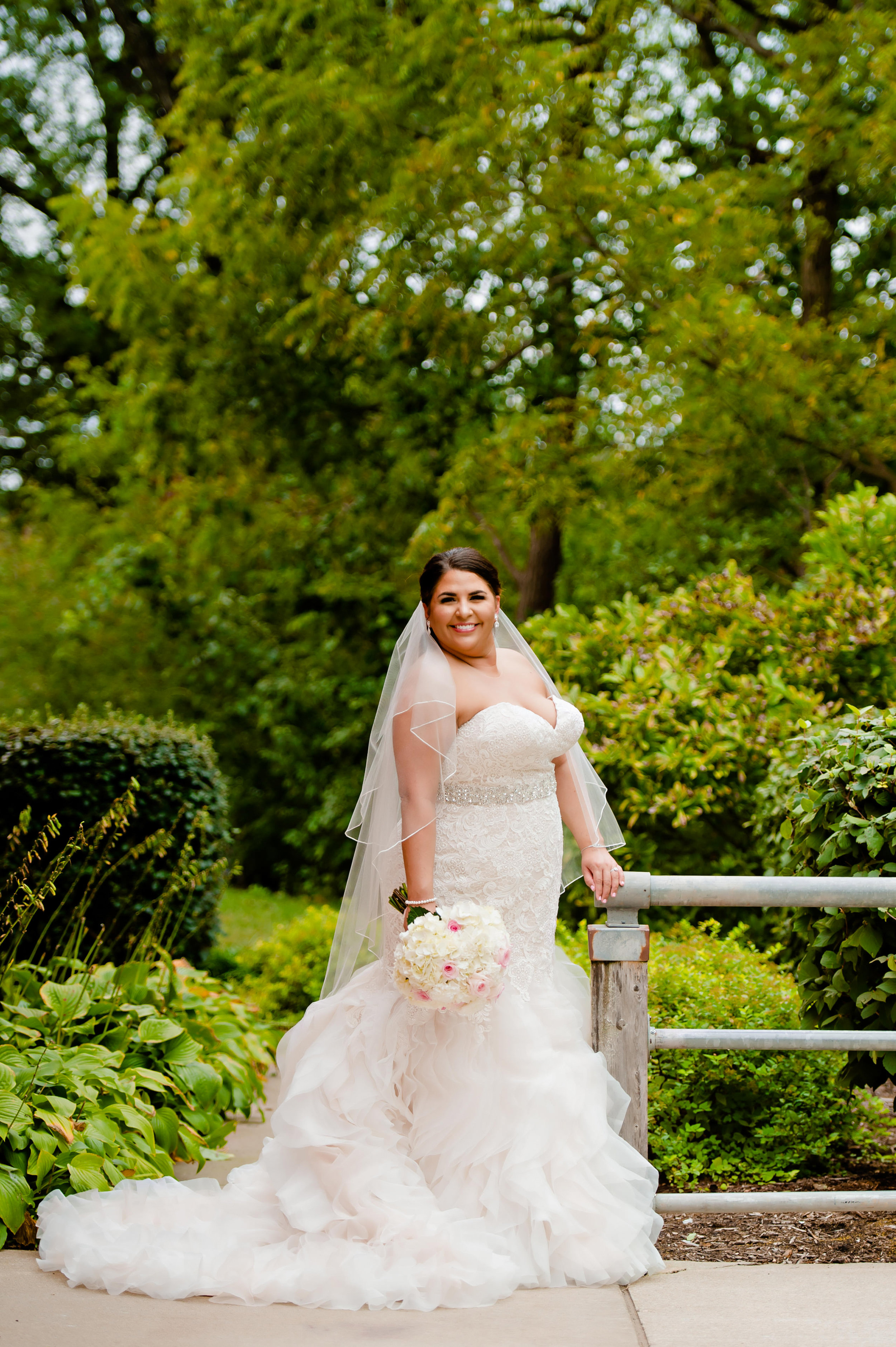 Plus Size Bride - Allure Bridals W365