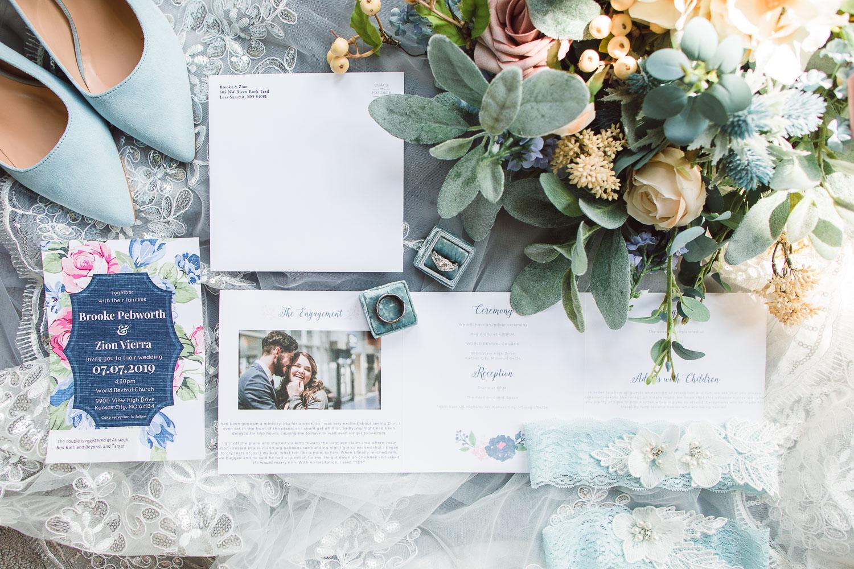 Wedding Flatlay | eGolden Moments