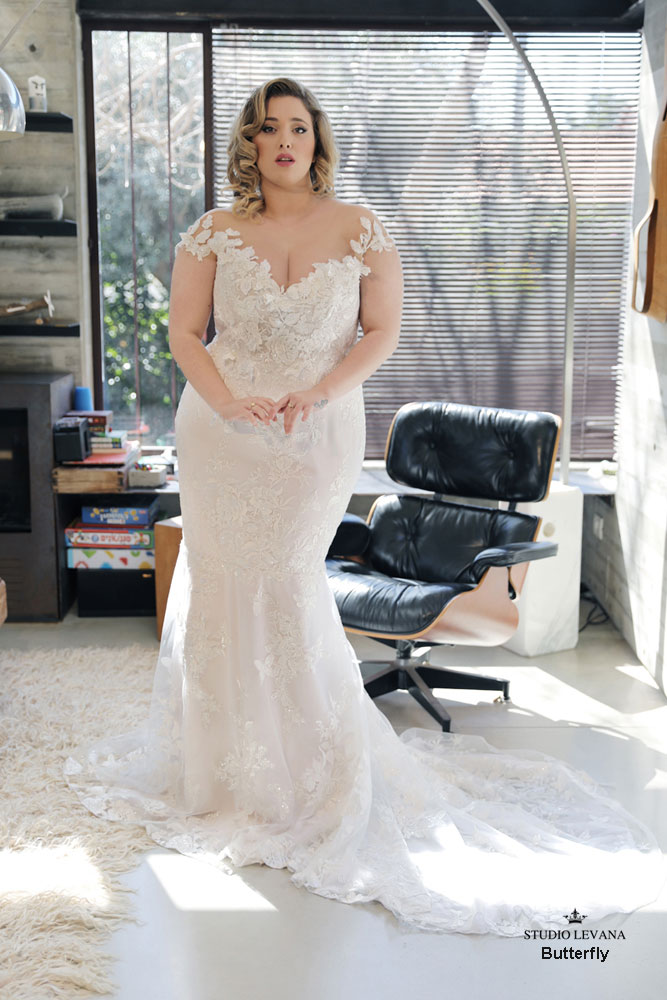 Butterfly | Studio Levana | Available at All My Heart Bridal