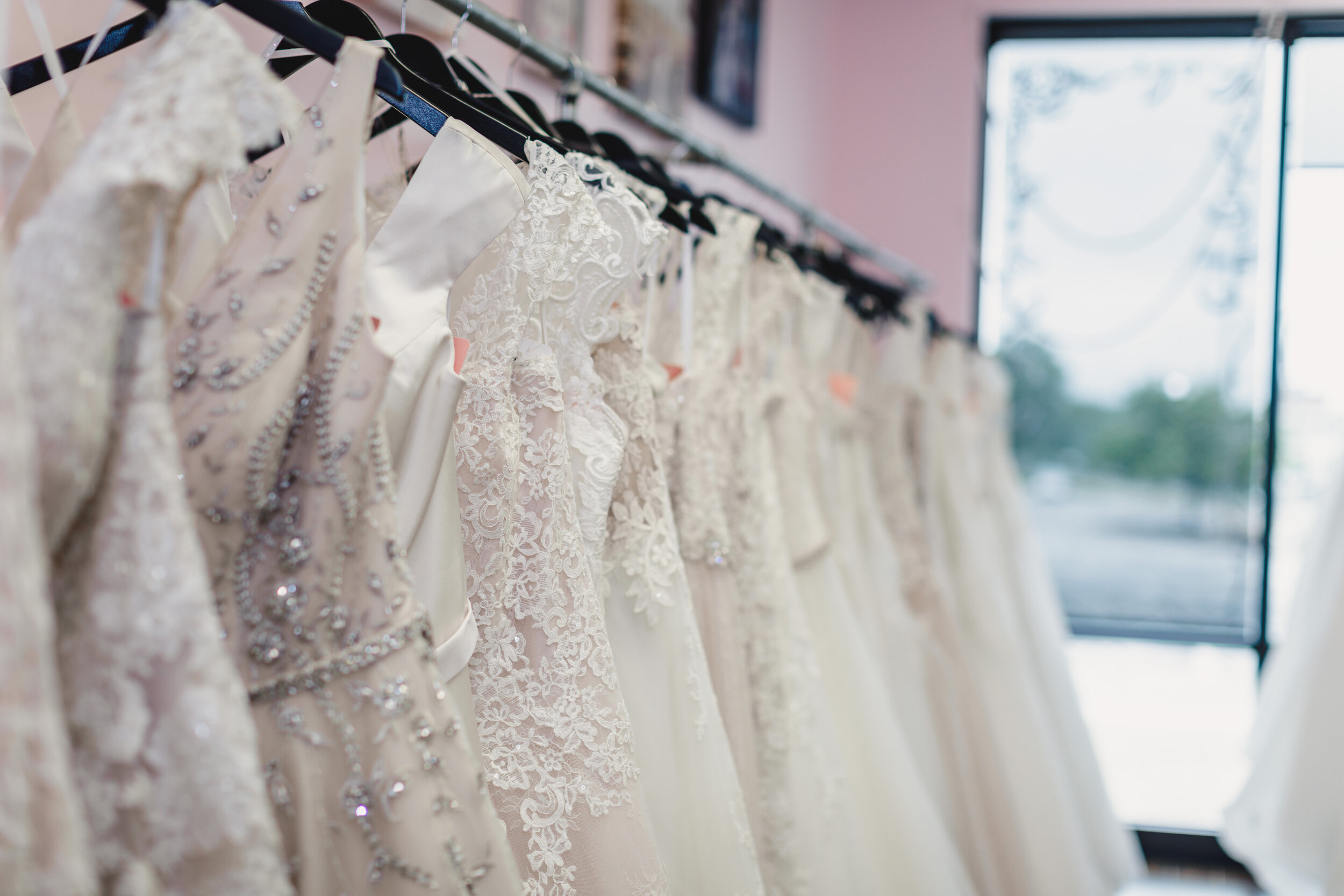 Wedding Dresses at All My Heart Bridal - Kelsey Diane Photography