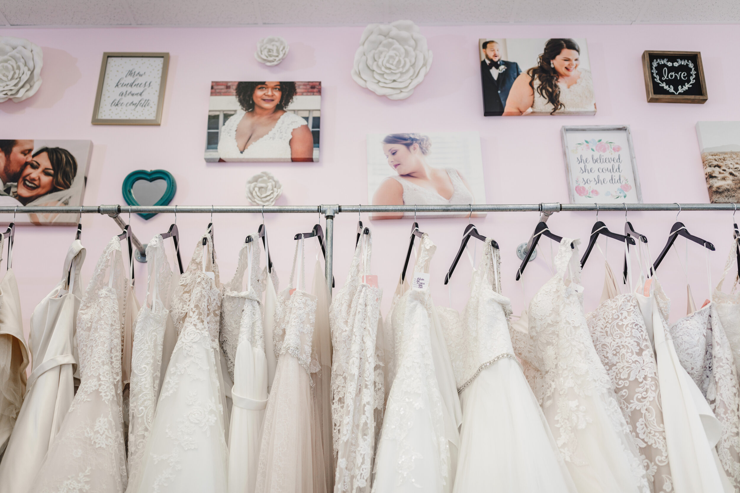 Dresses at All My Heart Bridal - Kelsey Diane Photography