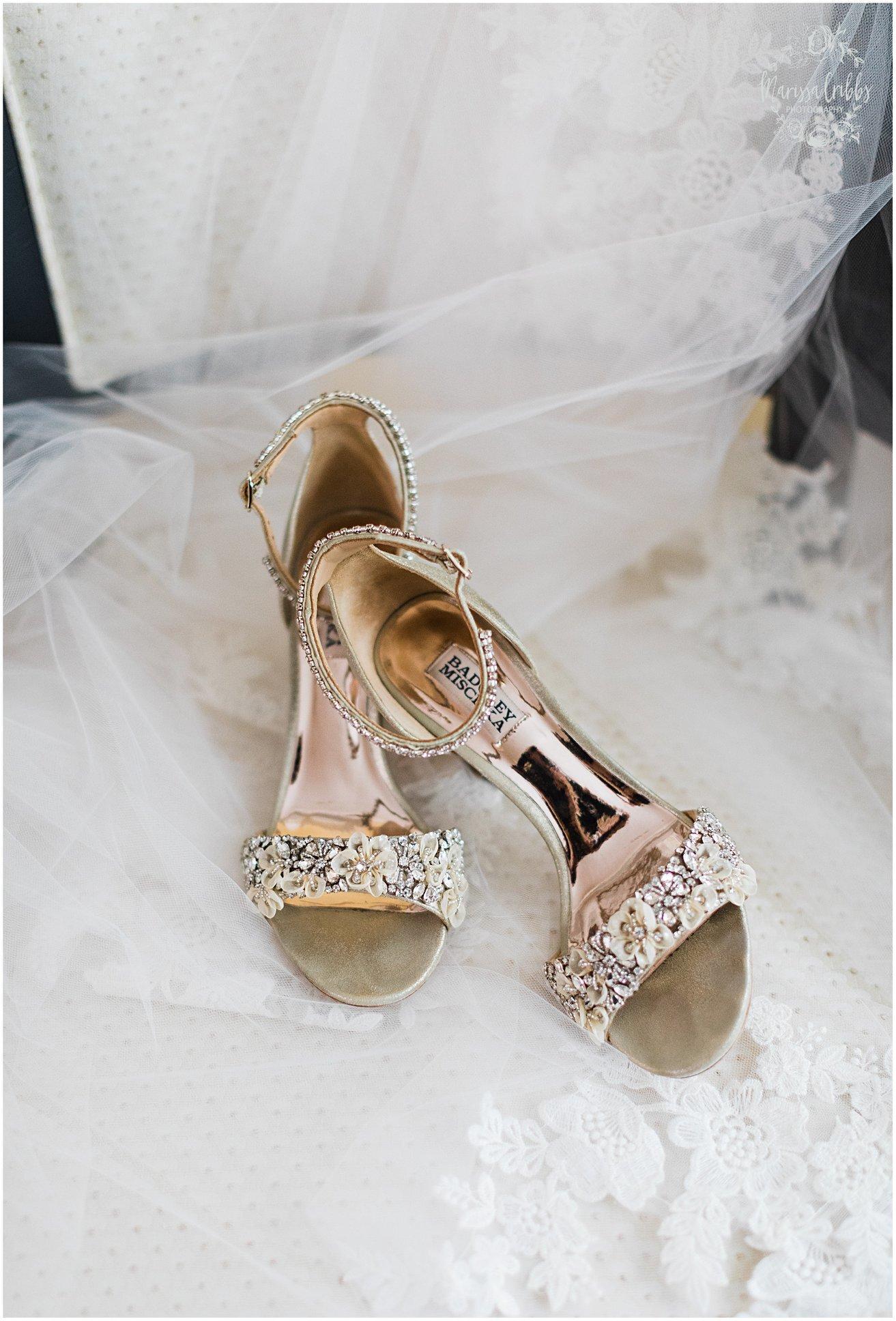 Badgley Mischka Bridal Shoes - Marrisa Cribbs Photography