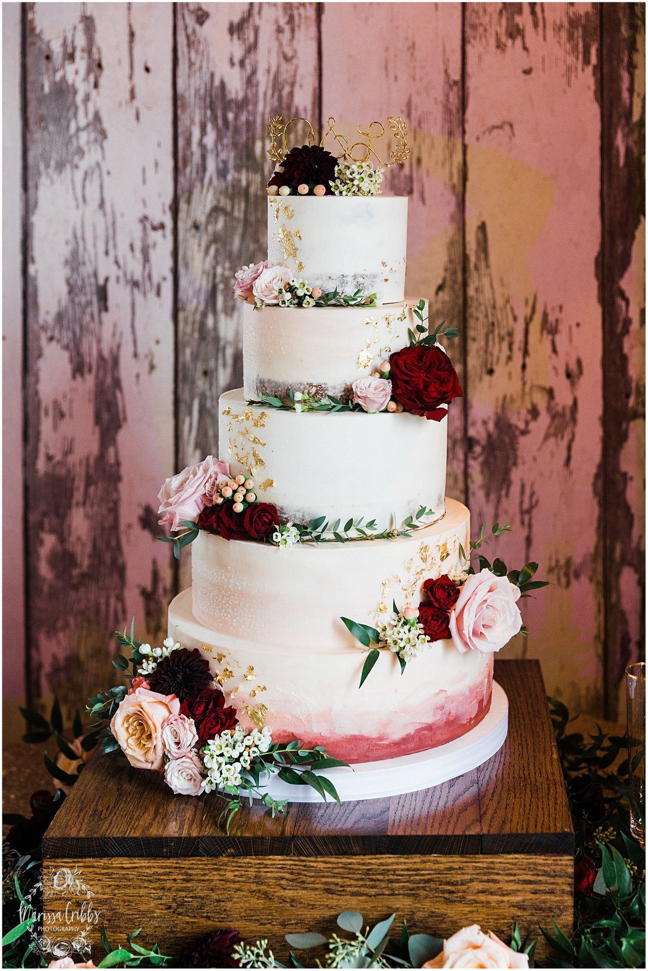 Wedding Cake - Marrisa Cribbs Photography