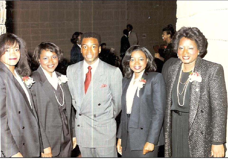 LaVar Burton and Grant Sisters at Jesse Jackson Bronze Bust Unveiling.jpg