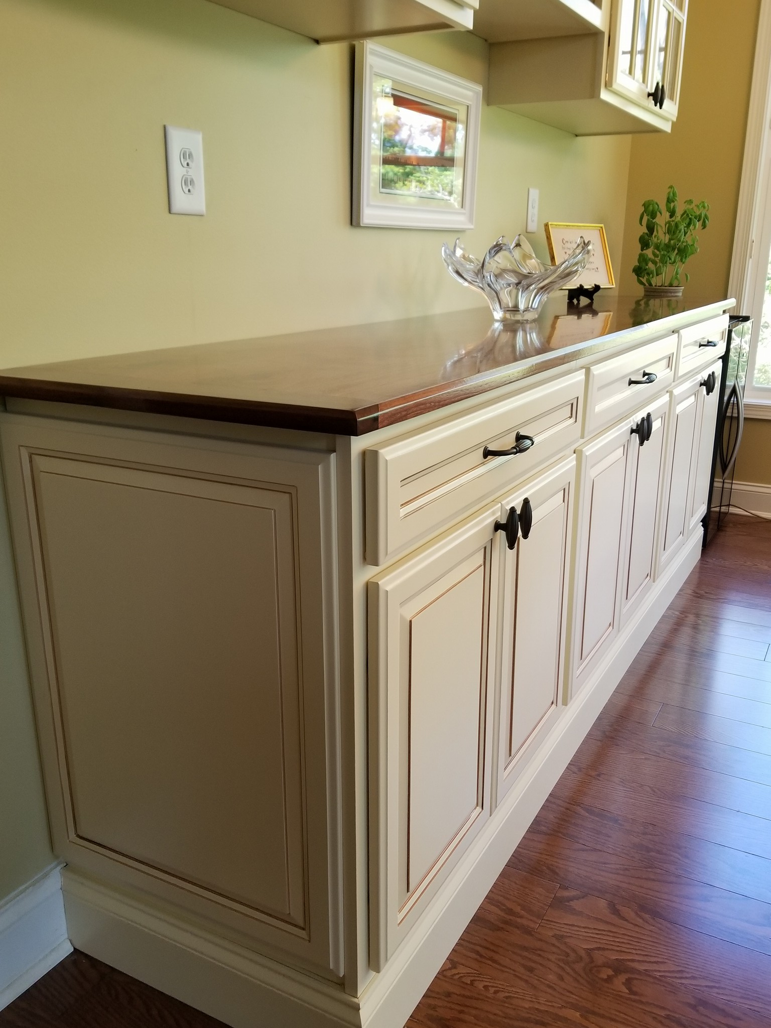 Custom Cabinets Delaware Sussex County Wood Slabs Wood Tops Hayes Custom Interiors Delaware Sussex County
