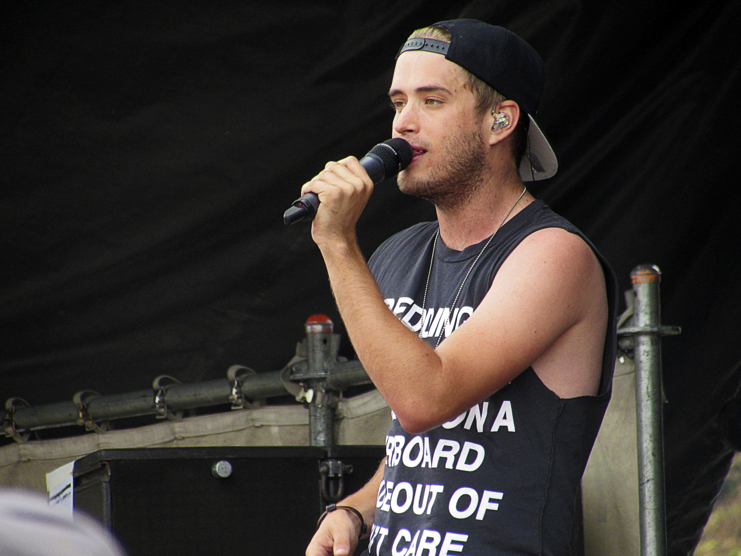 Brian Dales of The Summer Set