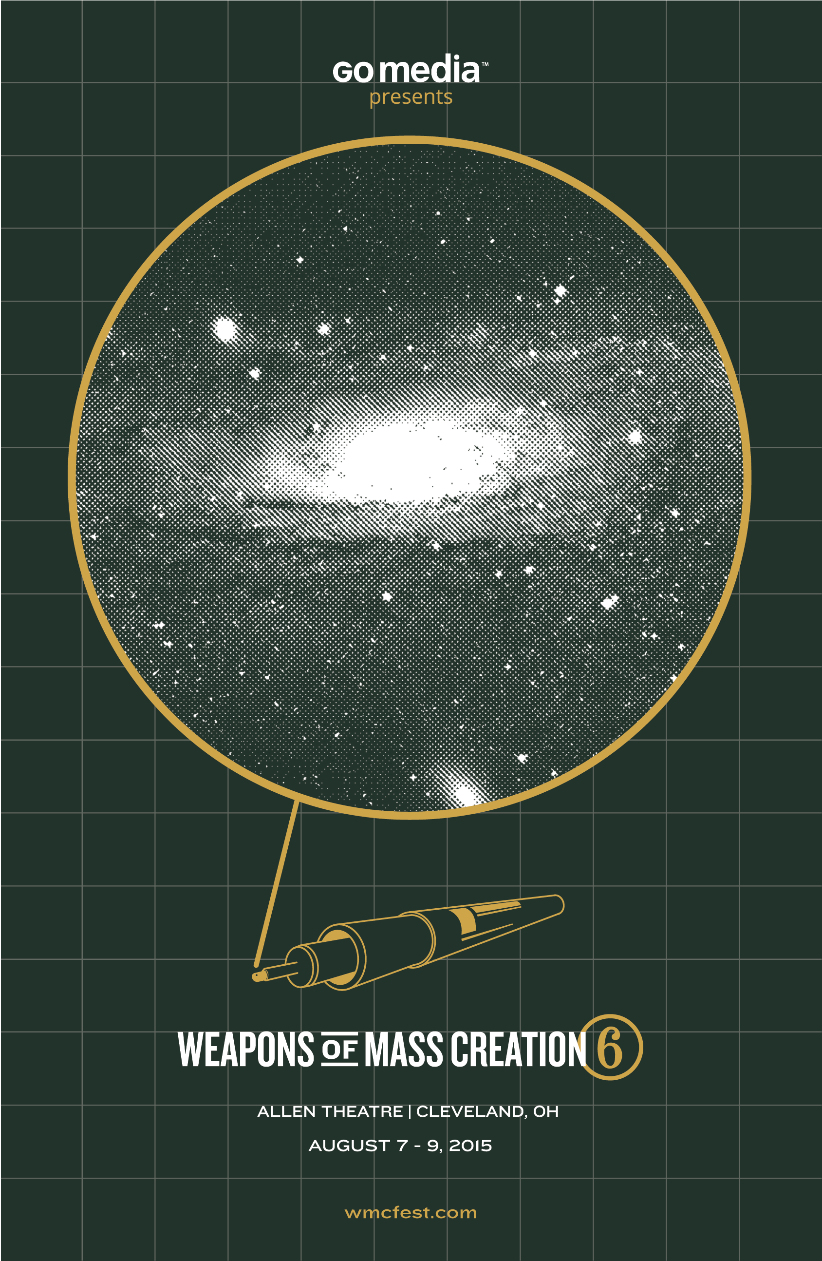WMC Fest 6 Alternate Poster
