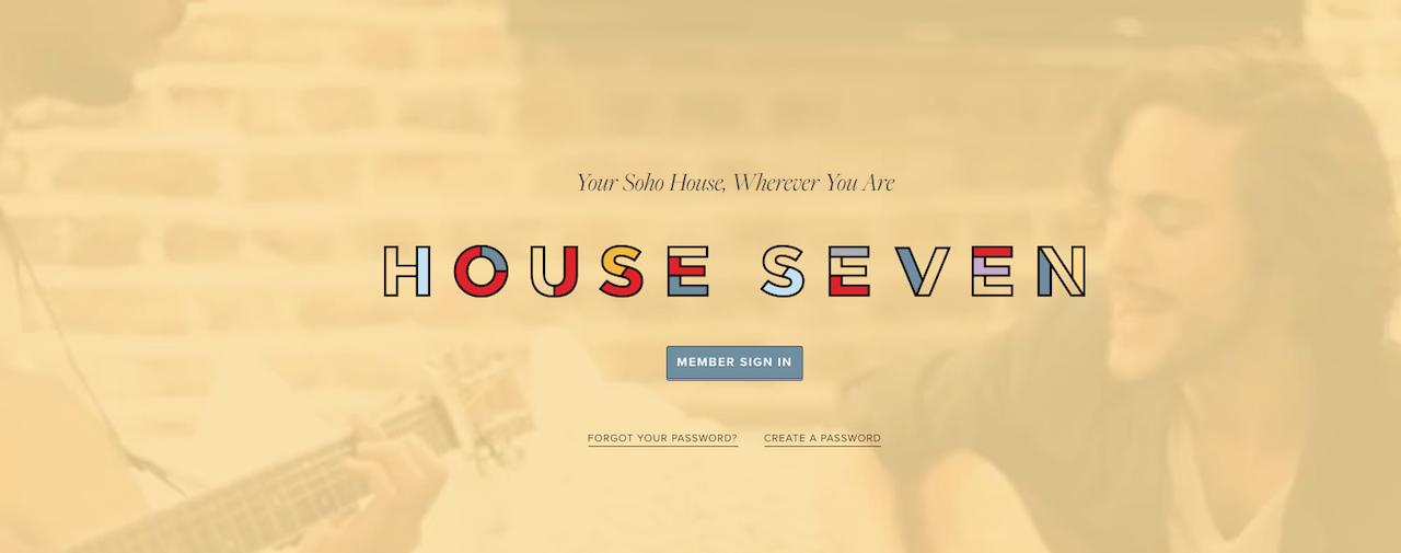 Soho House Seven - Sept. 2016