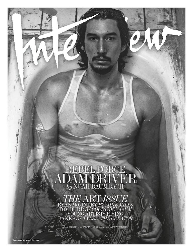 Interview Magazine - January, 2016