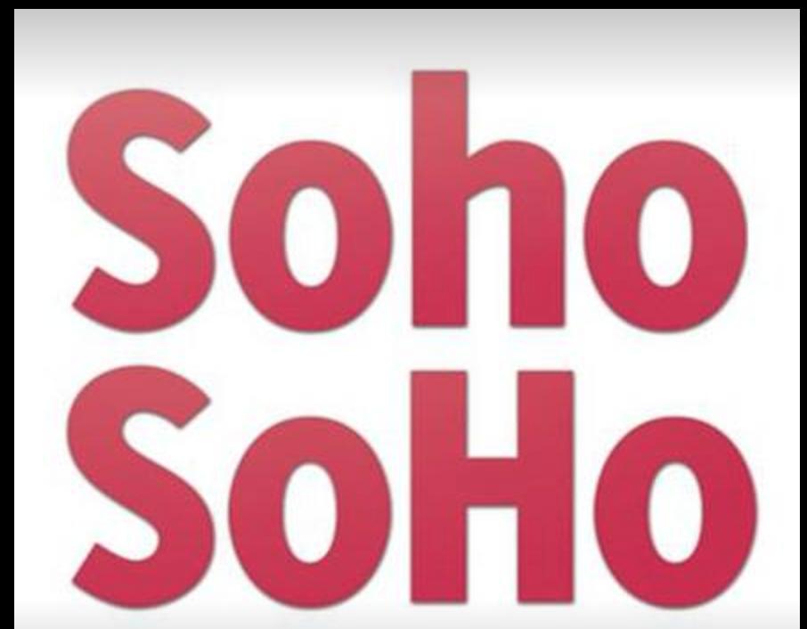 Soho Soho Showreel - Sept. 2016
