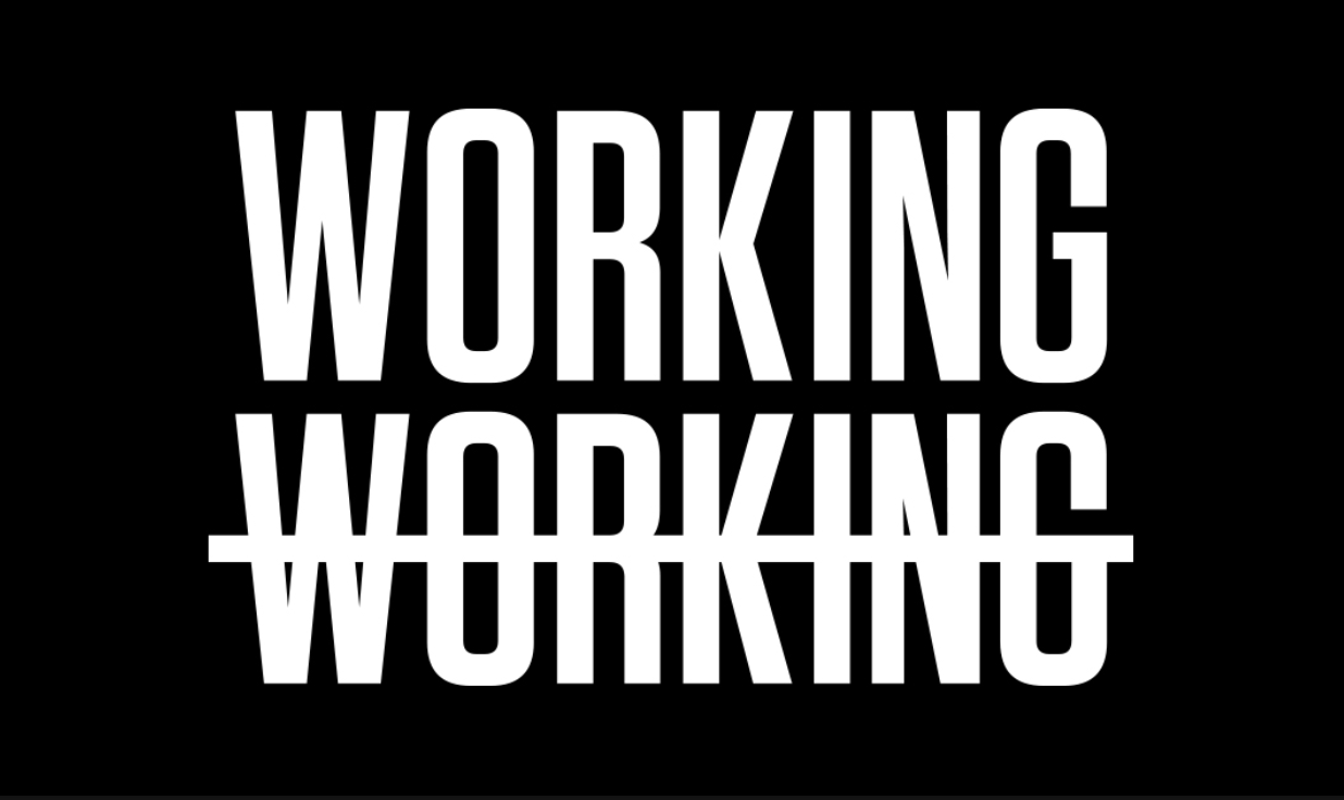 WorkingNotWorking, May 2018