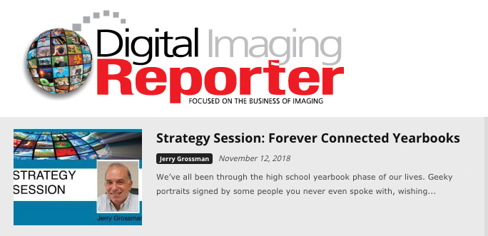 Digita; IMaging Reporter on Forever Connected YEarbooks