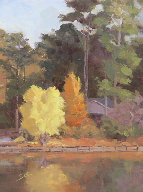 Autumn on Piney Woods Lake.JPG