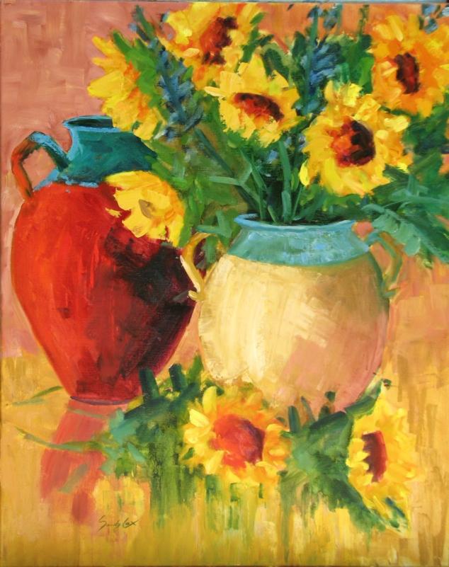 Sunflower Still Life 2.JPG