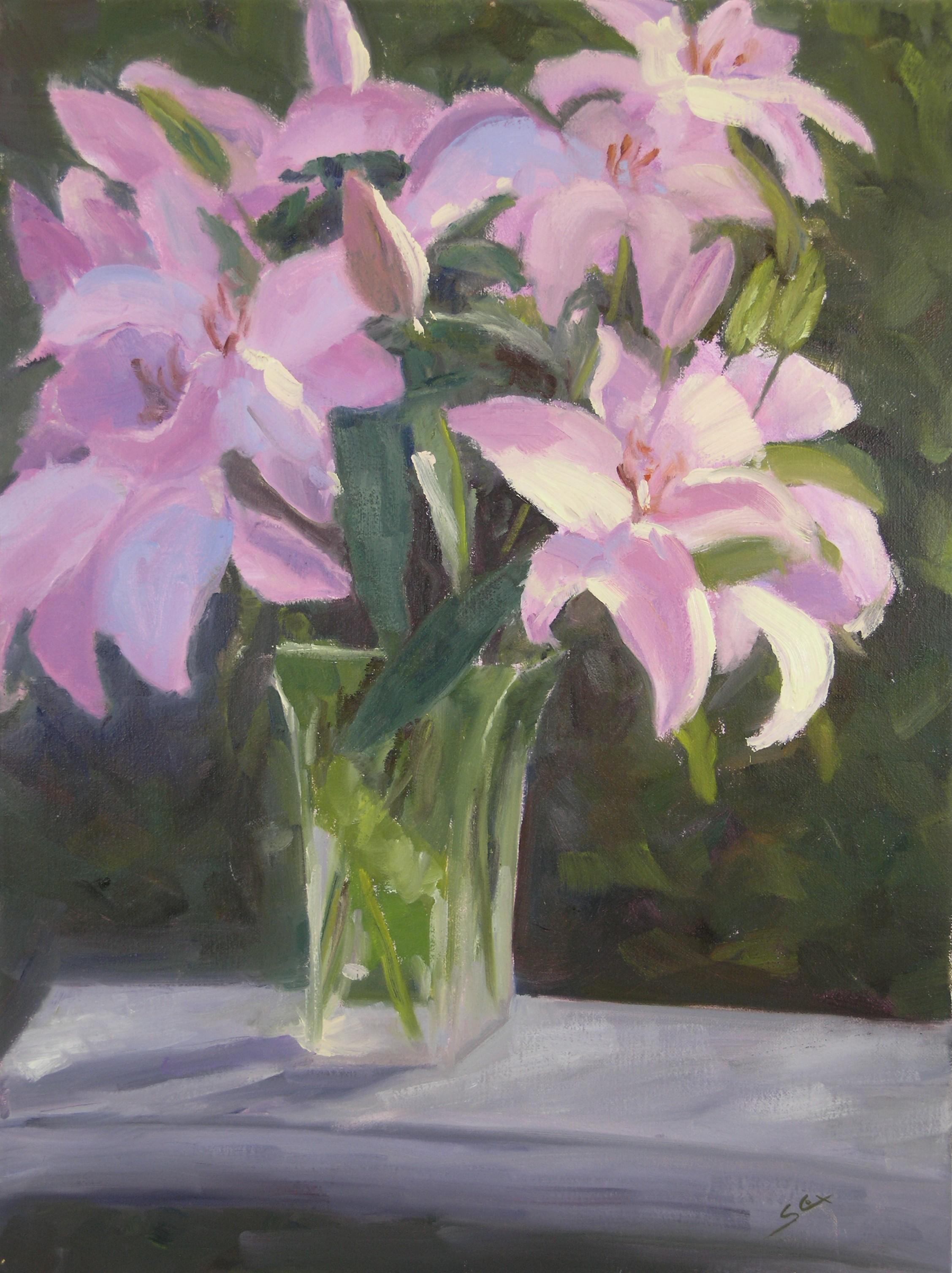 Pink Lilies.JPG