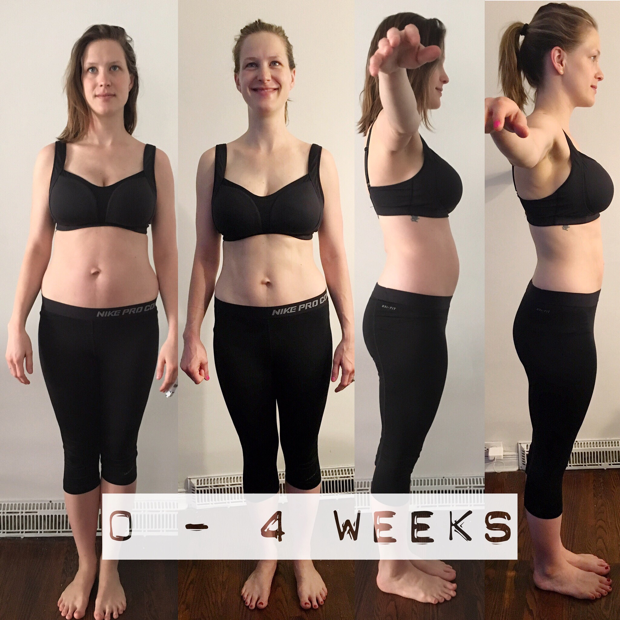 From beginning of Pre-Training to four weeks into BBG 1.0