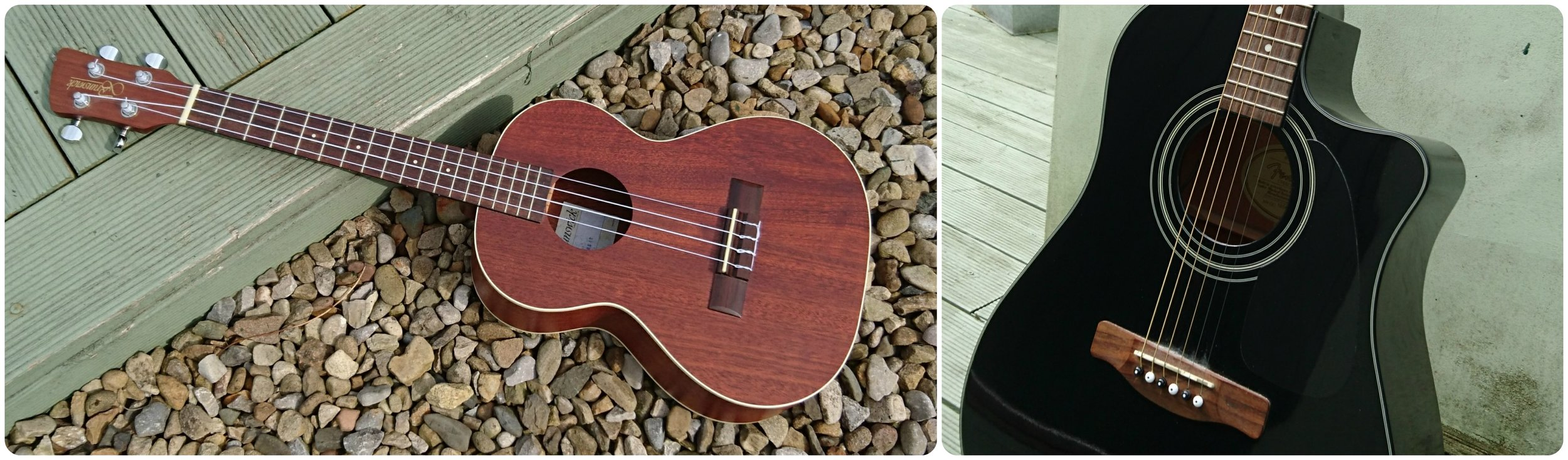 Ukulele and guitar instrument hire from Sid Wright sidwright.co.uk