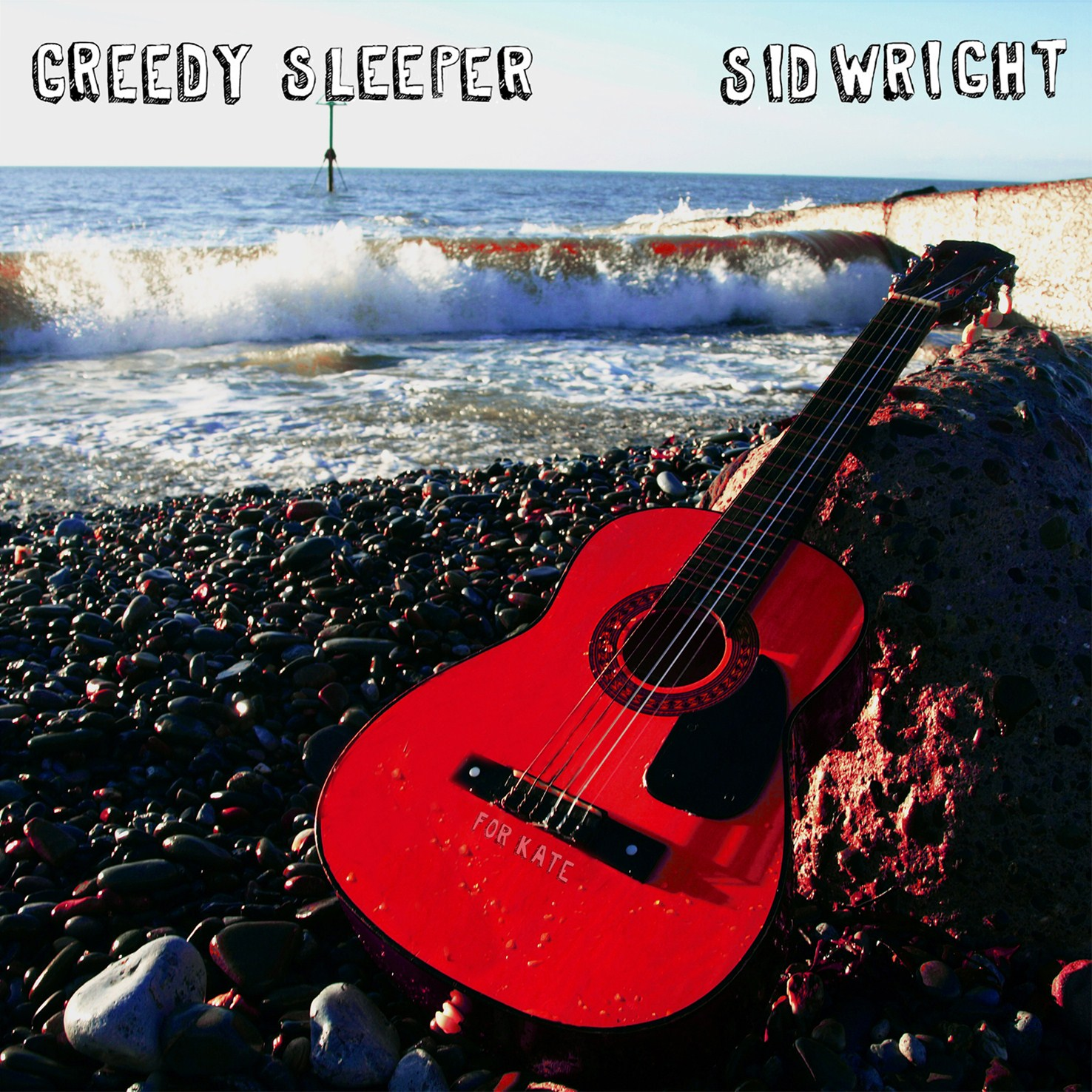 Greedy Sleeper album cover by Sid Wright sidwright.co.uk