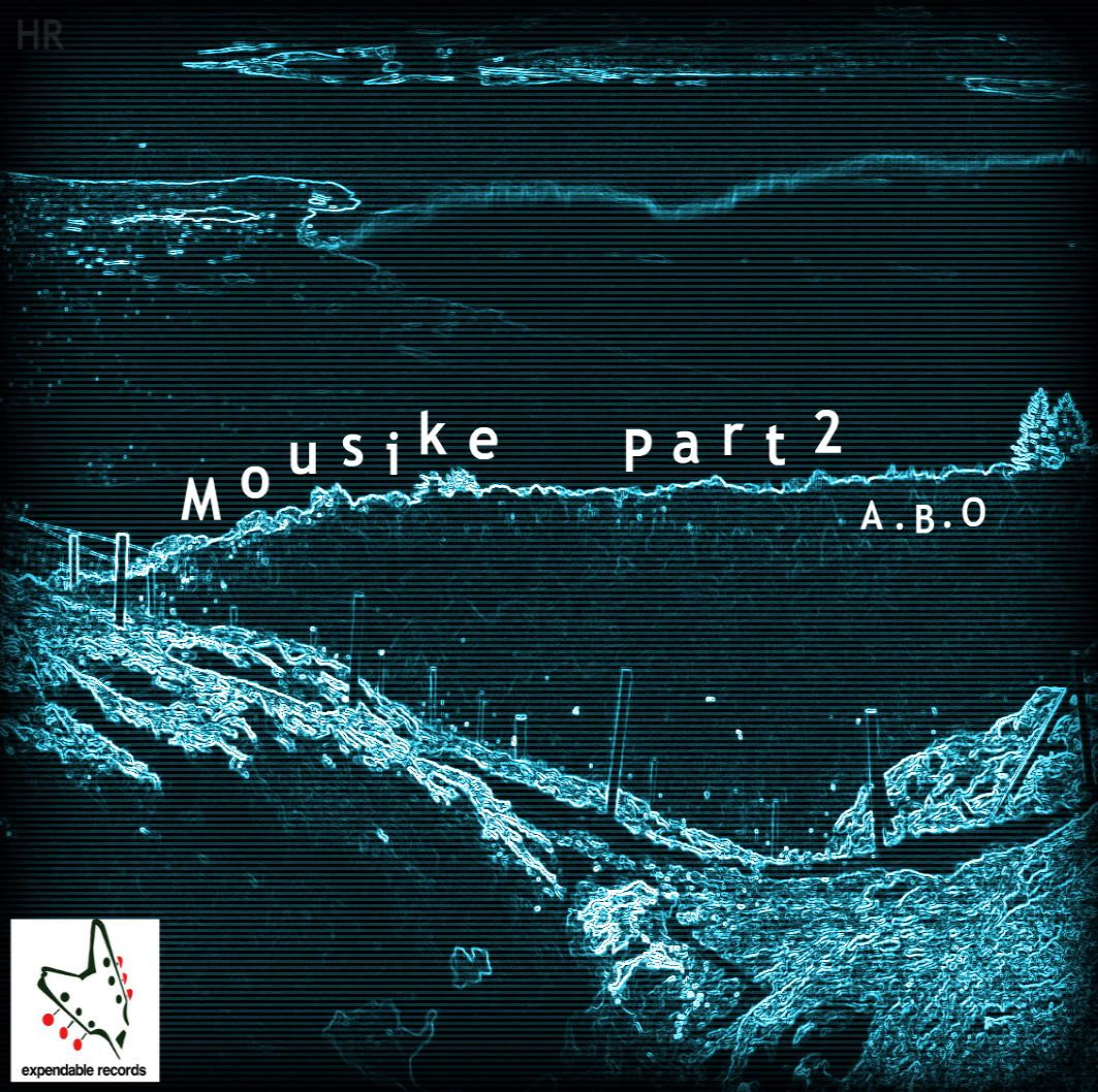 Mousike Part 2 album cover by Sid Wright sidwright.co.uk