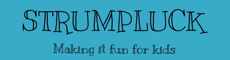 Strumpluck game logo Sid Wright sidwright.co.uk
