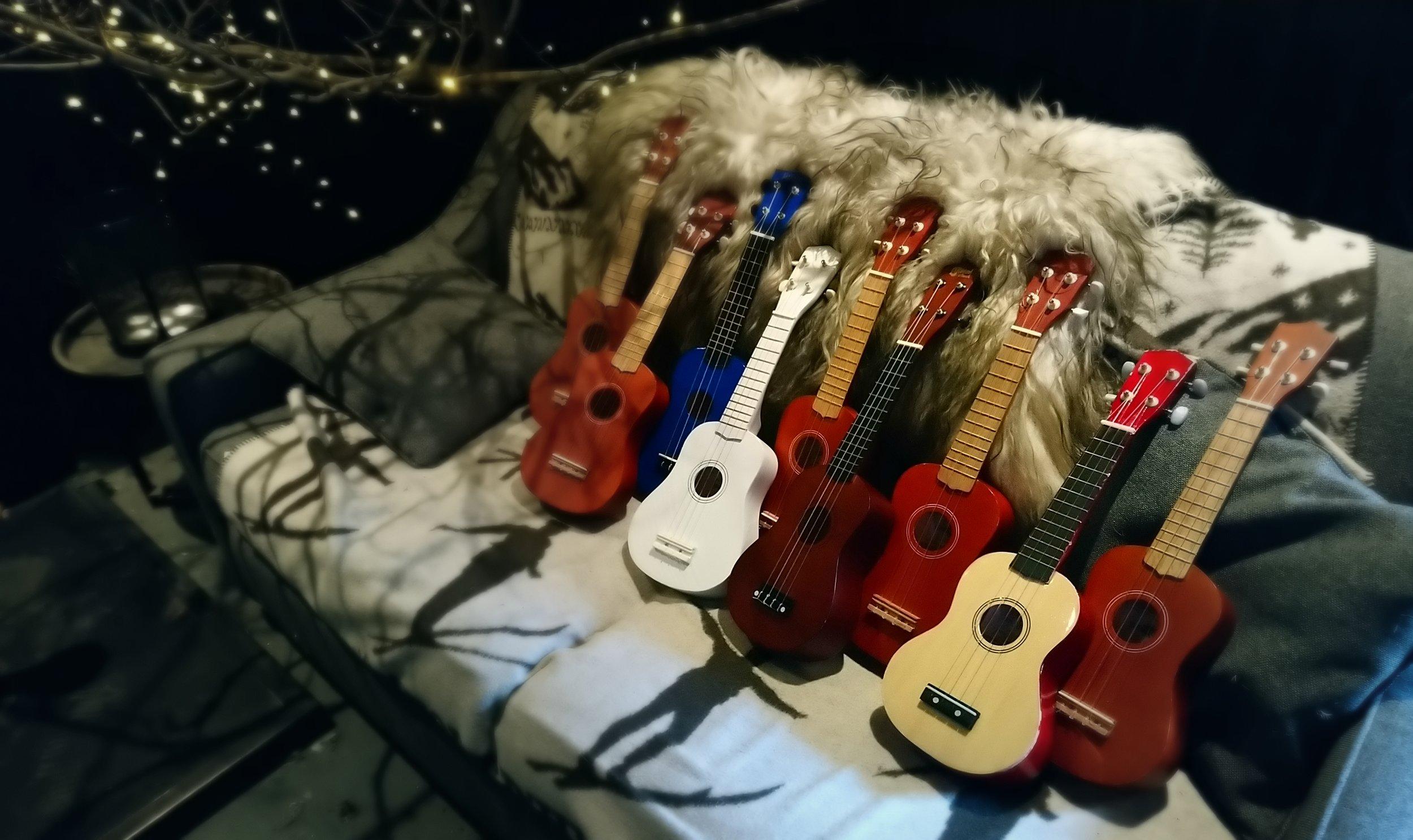 Ukulele and Guitar Tuition Sid Wright sidwright.co.uK