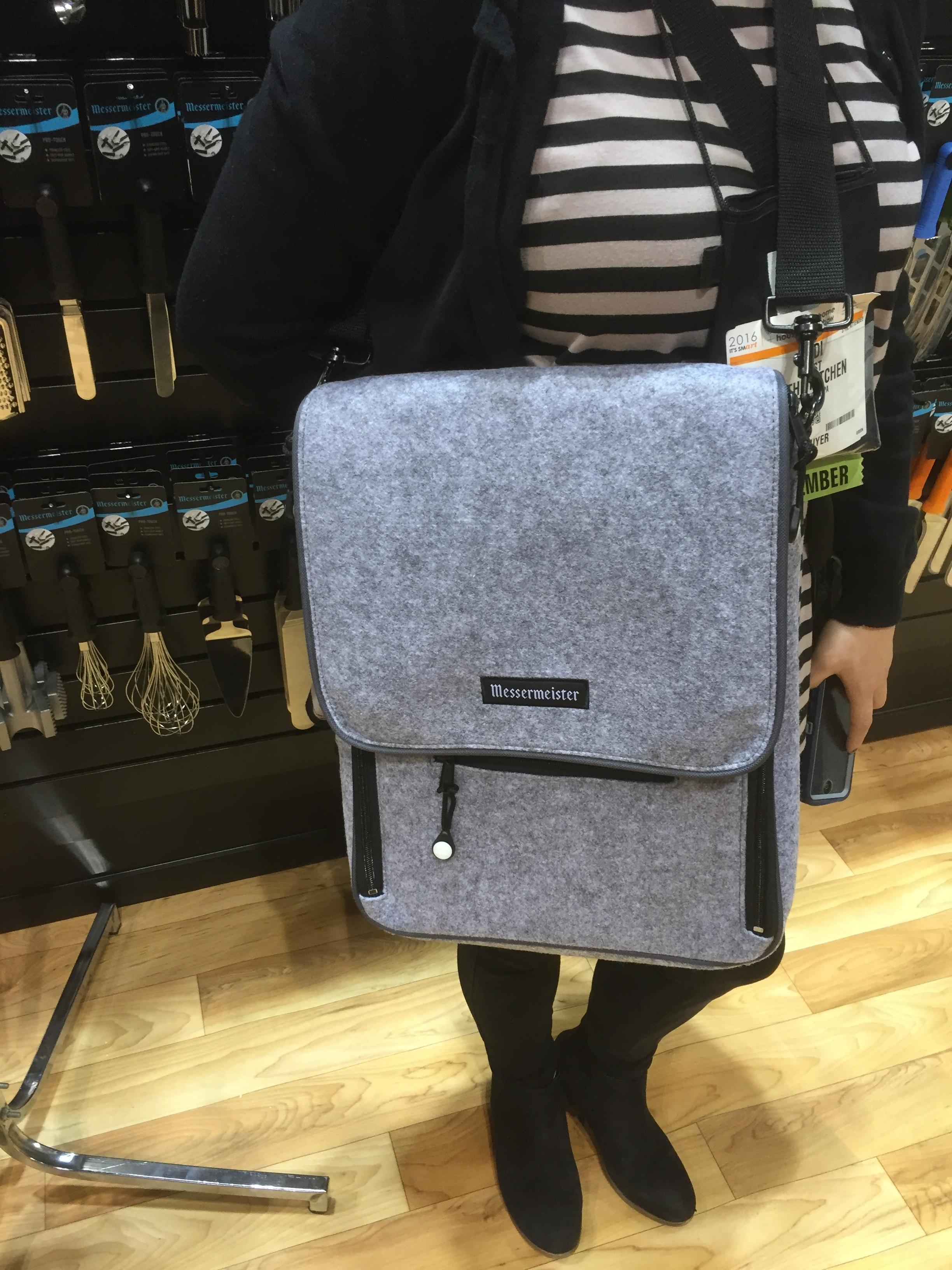 Messermeister Messenger Bag (Grey)