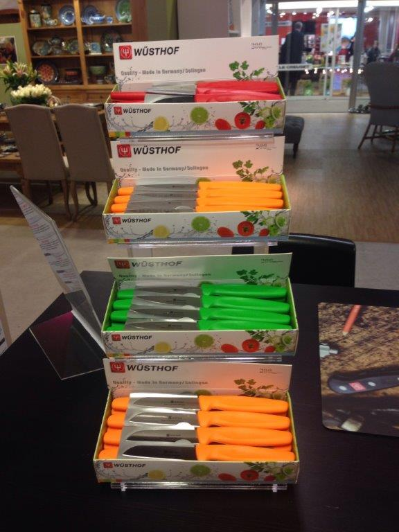 Wusthof Colored Pairing Knives