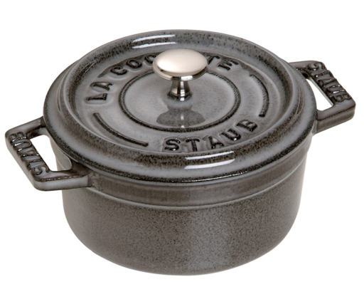 Staub Cast Iron 0.25-qt Mini Round Cocotte
