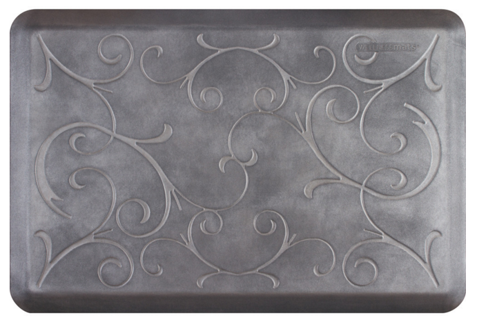 WellnessMats Bella in Slate (3x2)