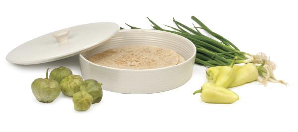 """RSVP Stoneware Tortilla Warmer 10"""""""