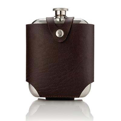 TRUE BRANDS: Admiral™ Stainless SteelFlask and Traveling Case by Viski