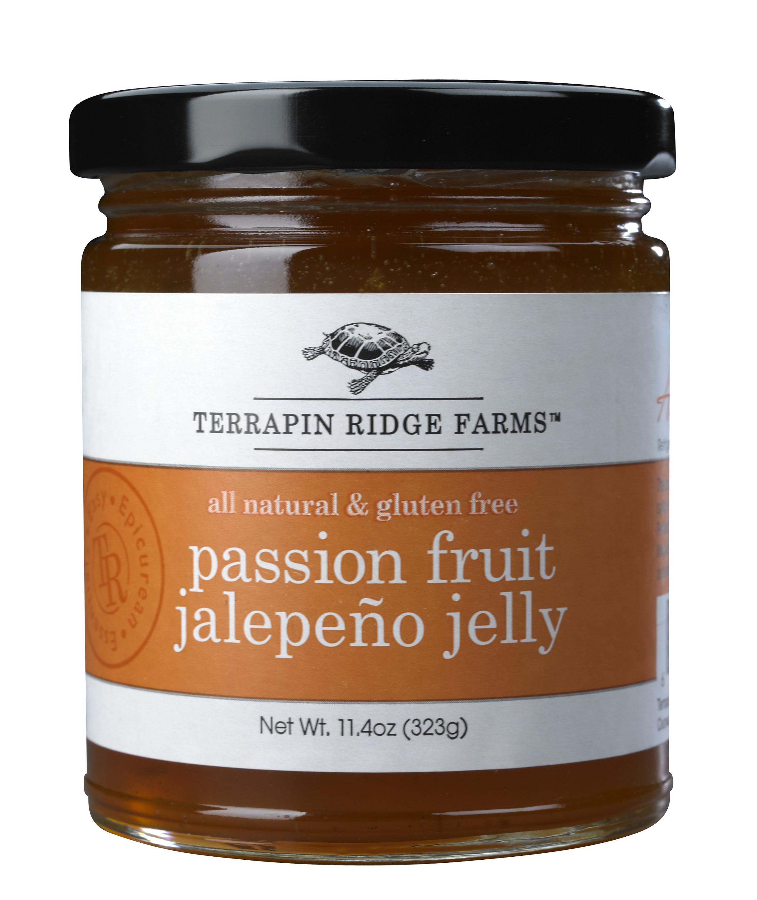 Terrapin Ridge Farms: Passion Fruit Jalapeno Gourmet Jelly