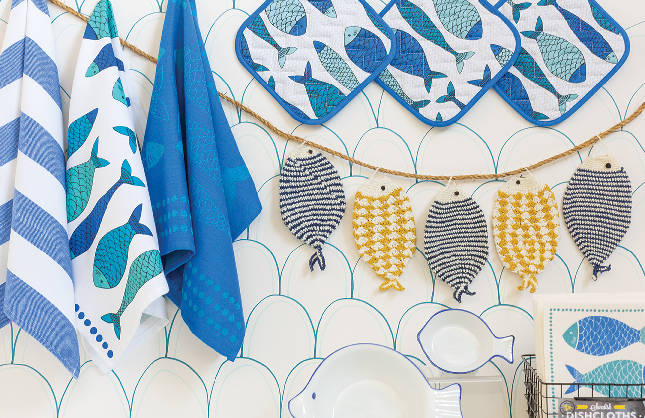 NOW DESIGNS: Fish Towels